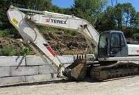 Гусеничные экскаваторы Terex TXC225 LC-1 - запчасти