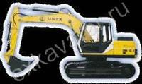 Гусеничные экскаваторы UNEX DH 12-1R - запчасти