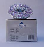 Встраиваемый  светильник Feron CD4141 MR16 (цвет корпуса прозрачно-сиреневый, золото)