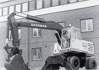 Запчасти к колесным экскаваторам Akerman H9M