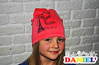 Детские шапки недорого. Французский трикотаж.