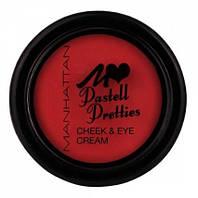 MANHATTAN Румяна Pastell Pretties Cheec & Eye Cream № 02 call me rosemary