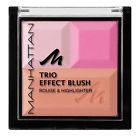 MANHATTAN Румяна Trio Effect Rouge&Highlighter Pink Cupcake
