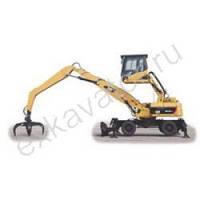 Колесные экскаваторы Caterpillar M318D MH
