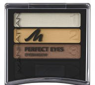 MANHATTAN Тени трехцветные Perfect Eyes № 12w/22f/92t Bronze Effect