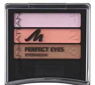 MANHATTAN Тени трехцветные Perfect Eyes № 25e/35l/35w Brown Effects