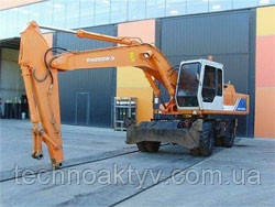 Запчасти к колесным экскаваторамHitachi FH200W-3