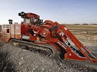 Траншейные экскаваторы и машины (траншеекопатели) Ditch Witch HT220