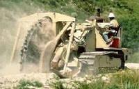 Траншейные экскаваторы и машины (траншеекопатели) Tesmec TRS 1000 Rocksaw