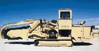Траншейные экскаваторы и машины (траншеекопатели) Tesmec TRS 1075