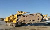 Траншейные экскаваторы и машины (траншеекопатели) Vermeer T 1055