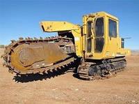 Траншейные экскаваторы и машины (траншеекопатели) Vermeer T 755