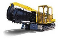 Траншейные экскаваторы и машины (траншеекопатели) Vermeer T 655