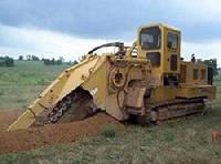 Траншейные экскаваторы и машины (траншеекопатели) Vermeer T 858