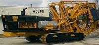 Траншейные экскаваторы и машины (траншеекопатели) Wolfe 8000 (Wheel)