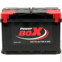 Аккумулятор Power Box 74 Аh 12V Euro (0)
