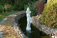 Поліуретанова форма для фонтану. Дівчина з глечиками.