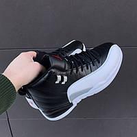 Мужские кроссовки Nike Air Jordan 12 OVO Black/White(ТОП РЕПЛИКА ААА+)