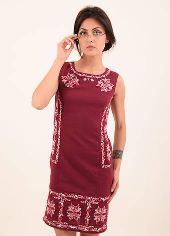 Льяное платье вышиванка, фото 2