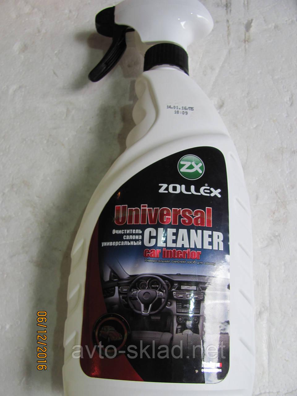 Очиститель салона многофункциональный Zollex 750 мл (полироль)