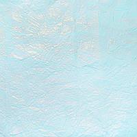 Светло-голубая жатая бумага с напылением