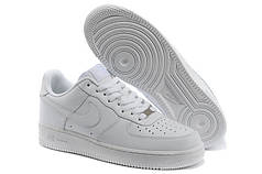 Мужские кроссовки Nike Air Force 1 Low белые топ реплика