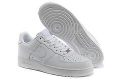 Женские кроссовки Nike Air Force 1 Low белые топ реплика
