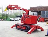 Экскаваторы и машины для демонтажных работ TopTec 5500 - запчасти
