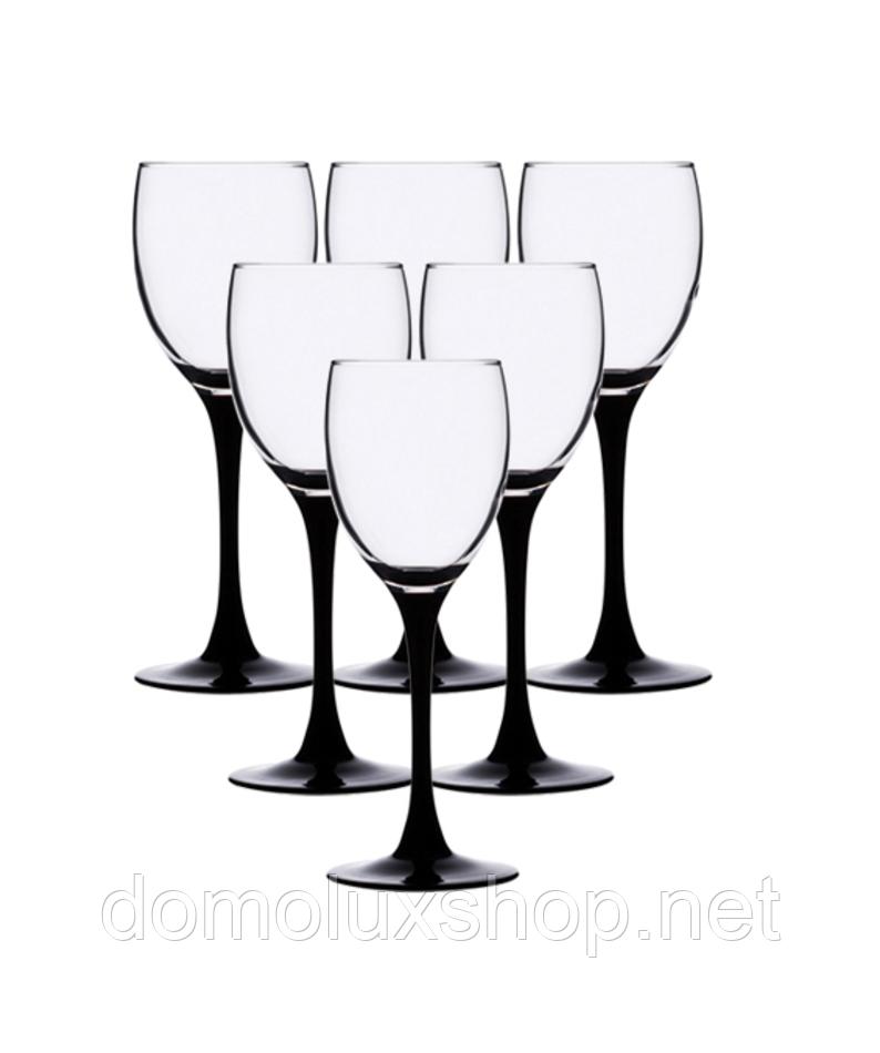 Luminarc Domino Набор бокалов для вина 6*190 мл (J0042)