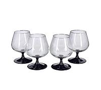 Luminarc Domino Набор бокалов для коньяка 4*410 мл