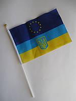 Флаг Украина-Евросоюз