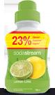 SodaStream сироп Lemon Lime (Лимон-лайм) 750мл.