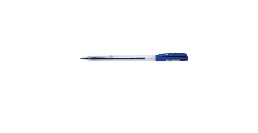 "Ручка гелевая ""Win"" синяя Flower 0.6мм, фото 2"