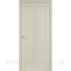 Двери Корфад Torino TR-01 беленый дуб глухое
