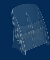 Буклетниця вертикальна А4 формату