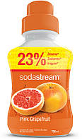 SodaStream сироп PINK Grape (розовый грейпфрут) 750мл.