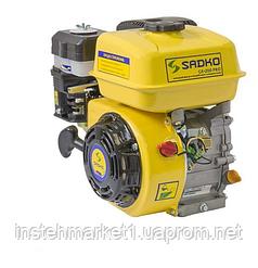 Двигатель бензиновый Sadko GE-200 PRO шлицевой вал (6,5 л.с. / 4,8 кВт)