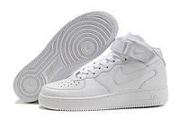 Кроссовки Nike Air Force 1 High белые