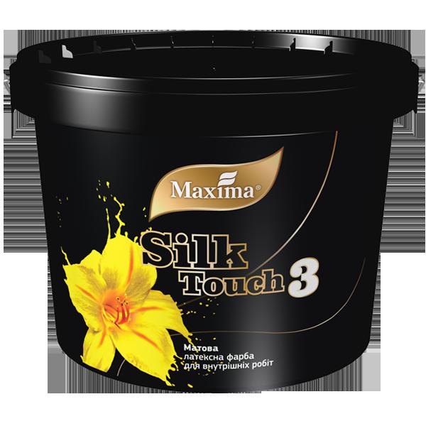 """Матовая латексная краска Silk Touch 3 (TM """"Maxima"""") 10 л"""