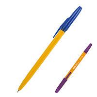 Ручка шариковая синяя Delta, AXENT DB2000