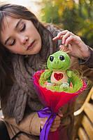 Забавный букетик из плюшевой игрушки, Черепашонок