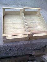 Ящики шпоновые деревяные для черешни вишни сшитый на станке CORALLI в Гнивани