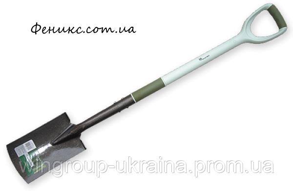 Лопата штыковая узкая Carbon Steel Ergonomic, фото 2