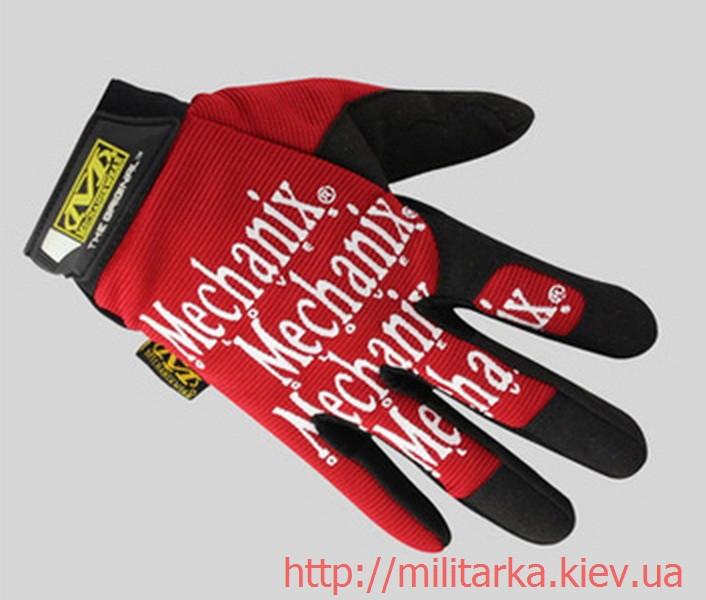 Перчатки рабочие Mechanix Red Fast Fit