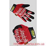 Перчатки рабочие Mechanix Red Fast Fit , фото 2