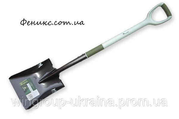 Лопата совковая Carbon Steel Ergonomic, фото 2