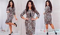 Женское платье ткань тонкая ангора размеры от 48 до 62