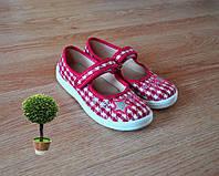 Детская обувь тапочки для девочки кожаная стелька супинатор 24-30