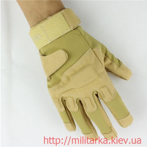 Тактические перчатки Blackhawk coyote полнопалые