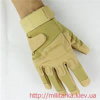 Тактические перчатки Blackhawk coyote полнопалые, фото 1